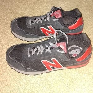 New Balance 515 Red and Black